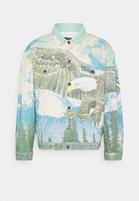 Jaded London - ALASKA LANDSCAPE WESTERN JACKET - Denim jacket - multi-coloured - 4
