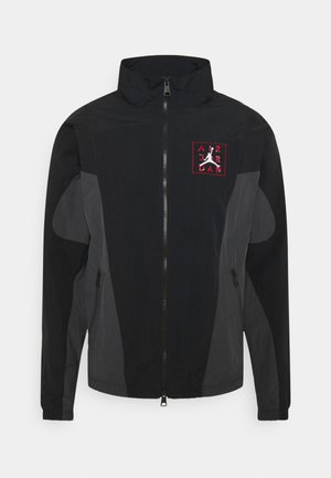 Training jacket - black/dark smoke grey