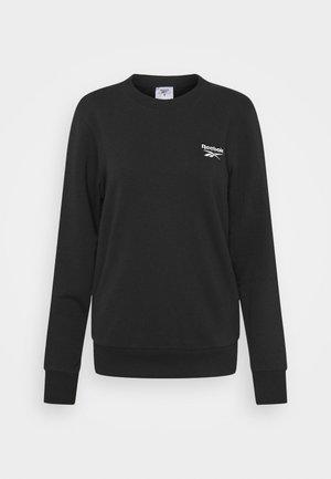FRENCH TERRY CREW - Sweatshirt - black