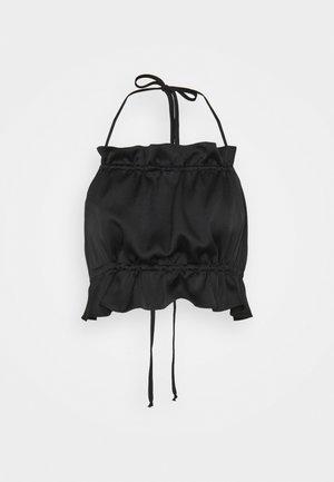LIZI RUFFLE - Top - black