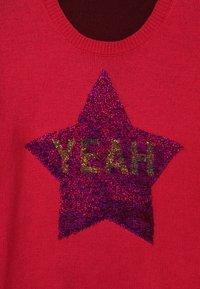Benetton - Stickad tröja - pink - 3