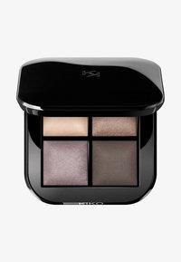 KIKO Milano - BRIGHT QUARTET BAKED EYESHADOW PALETTE - Eyeshadow palette - 03 cool natural shades - 0