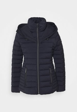 STRETCH PACKABLE PUFFER - Down jacket - dark navy