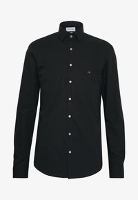 Calvin Klein Tailored - STRETCH SLIM - Chemise classique - black - 4