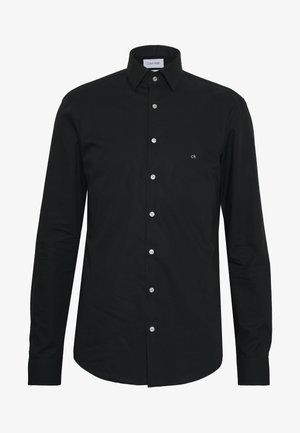 STRETCH SLIM - Formal shirt - black