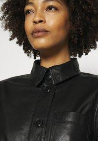 Part Two - HURI - Leather jacket - black - 4
