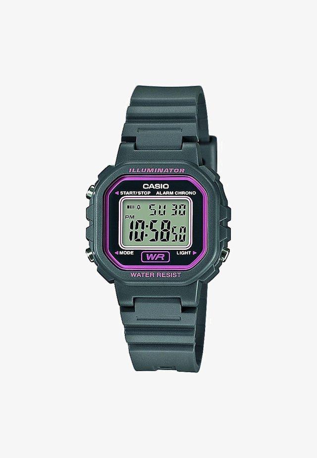 Reloj digital - grey