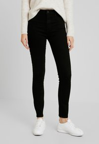 ONLY - ONLFHI MAX LIFE BOX - Jeans Skinny Fit - black denim - 0