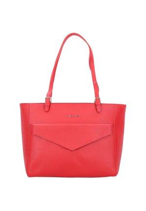 SAFFIANO SIGNATURE  - Tote bag - rouge