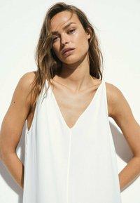 Massimo Dutti - Maxi dress - white - 1