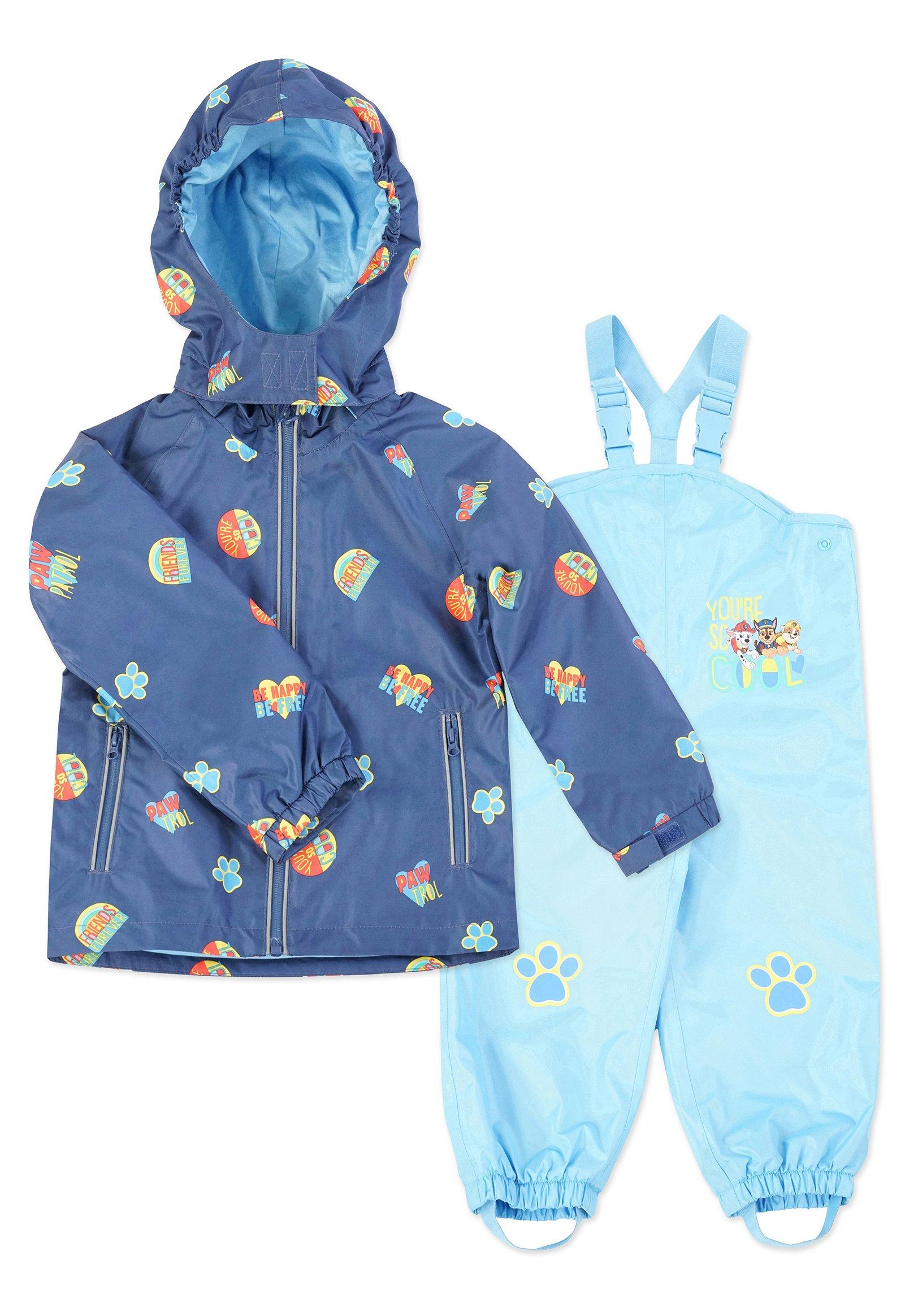 Kinder MATSCH UND BUDDELANZUG SET-Waterproof jacket - Regenhose