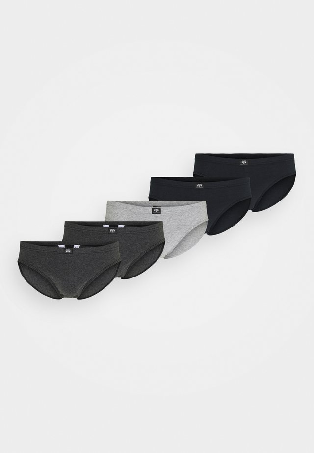 5 PACK - Slip - grey/dark/melange