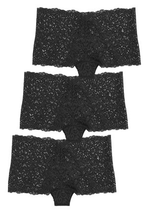 3 PACK - Culotte - black