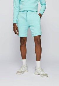 BOSS - HEADLO  - Shorts - open blue - 0
