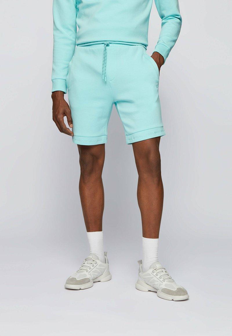 BOSS - HEADLO  - Shorts - open blue