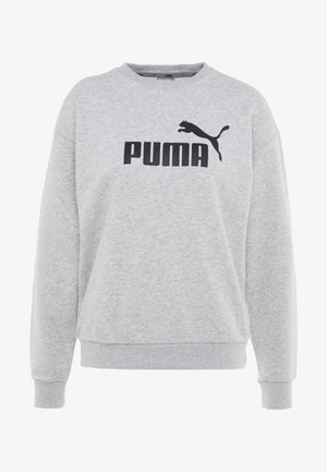 LOGO CREW - Sweater - light gray heather