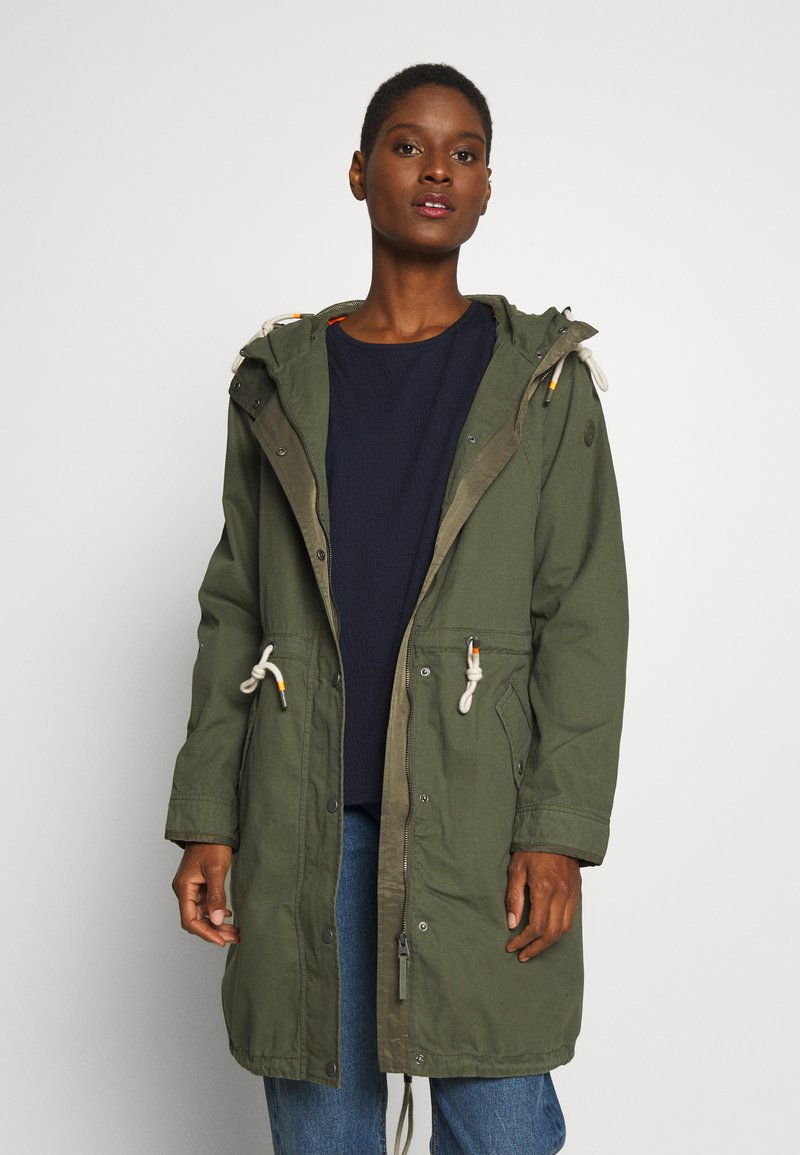 Q/S designed by - MANTEL - Parka - olive