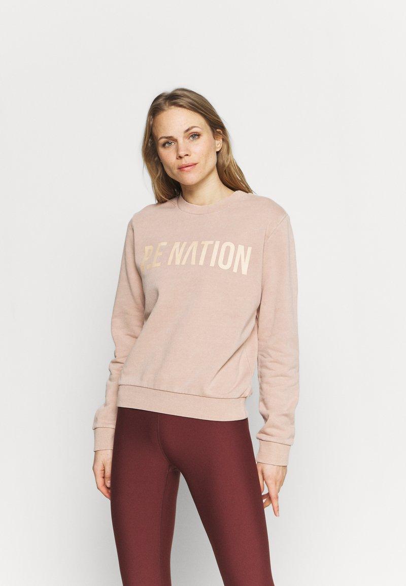 P.E Nation - FORTIFY - Sweatshirt - nude