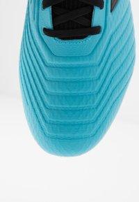 adidas Performance - PREDATOR 19.3 SG - Screw-in stud football boots - bright cyan/core black/solar yellow - 6