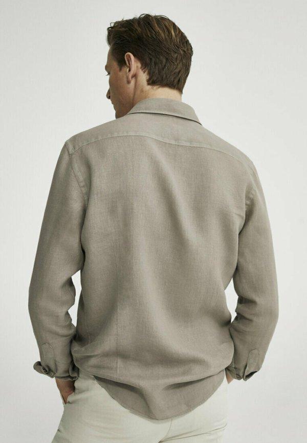 Massimo Dutti Koszula - grey/szary Odzież Męska BCAJ