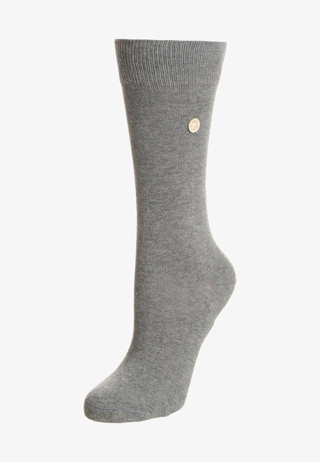 Socks - mid gray melange