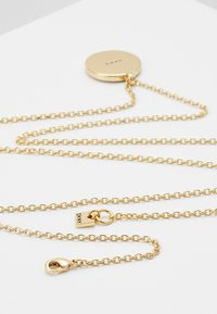 DKNY - LARGE TOKEN LOGO PENDANT - Collier - gold-coloured - 2