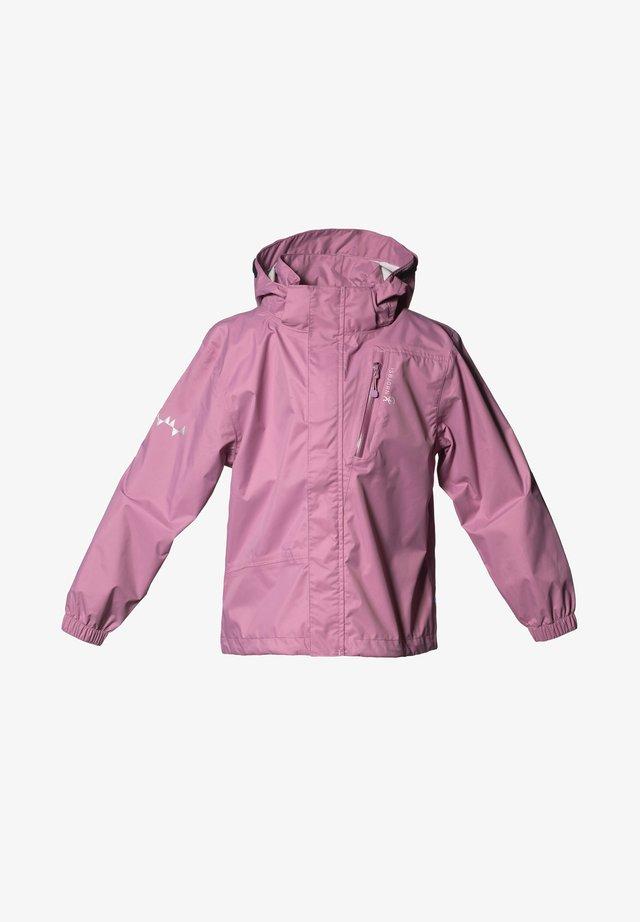 Waterproof jacket - dusty pink