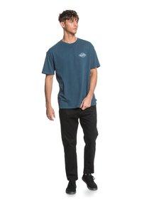 Quiksilver - HARMONY HALL  - T-shirt print - majolica blue - 1