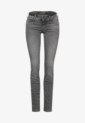 CASUAL FIT - Slim fit jeans - grau