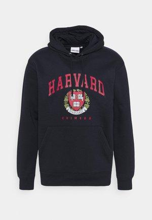 HARVARD CRIMSONHOODIE - Sweatshirt - navy