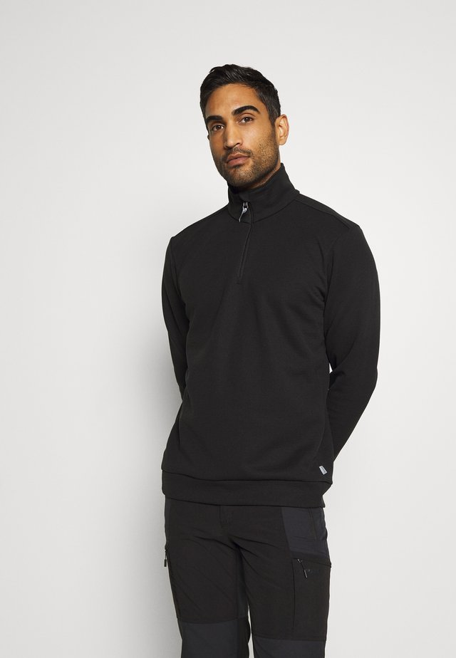 MONO AIR HALFZIP - Sweater - true black