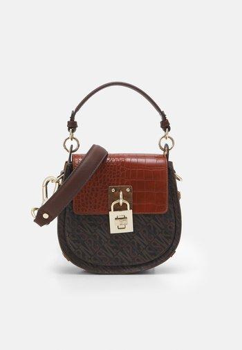 BLATTE - Handbag - coffee