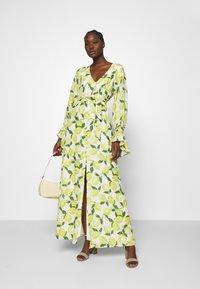 Fabienne Chapot - OUTSHINE THE BRIDE DRESS - Maxi šaty - lime lights - 1