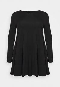 Even&Odd Curvy - Day dress - black - 5