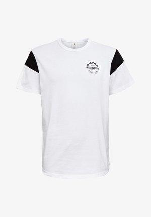 SPORT PANEL ORIGINALS LOGO GR - Print T-shirt - white