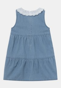 Marks & Spencer London - COLLAR DRESS - Denim dress - blue denim - 1