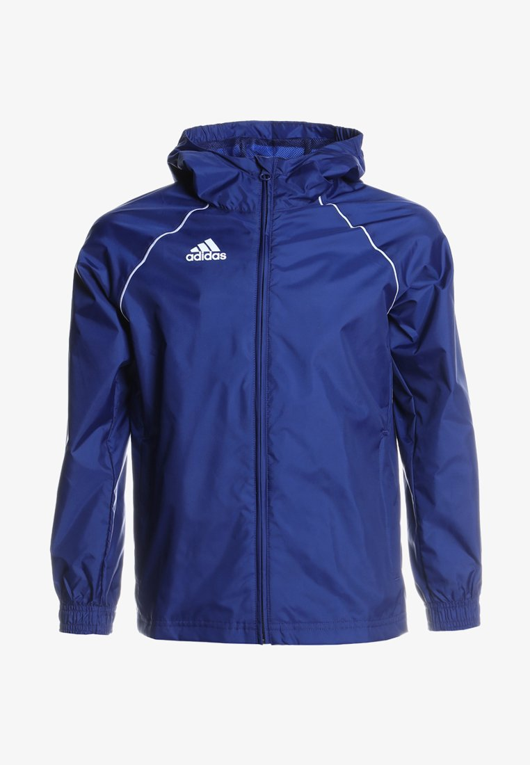 adidas Performance - CORE ELEVEN FOOTBALL JACKET - Giacca hard shell - dkblue/white