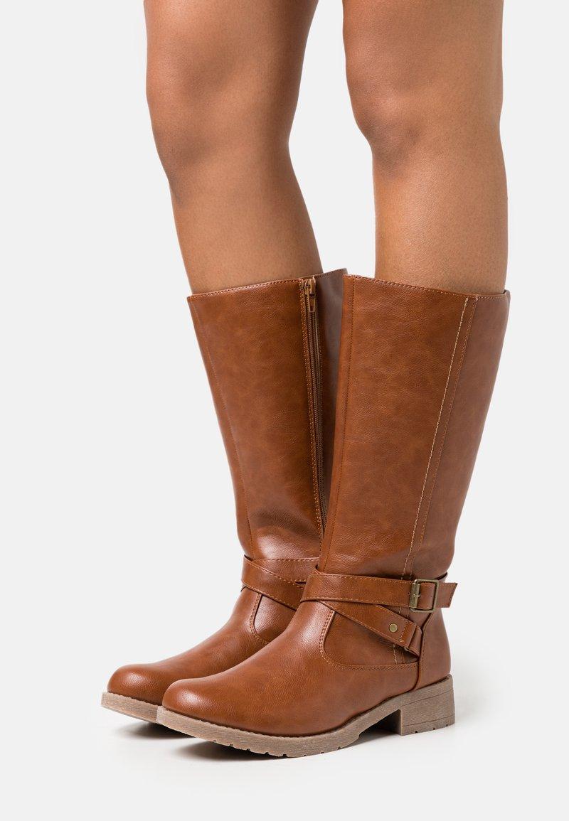 Anna Field - Boots - cognac