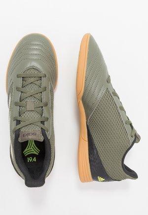 PREDATOR 19.4 IN SALA - Indoor football boots - legend green/sand/solar yellow