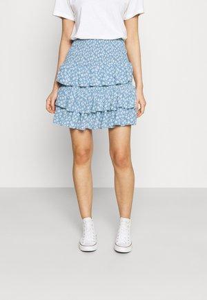 YASLURA SKIRT - A-snit nederdel/ A-formede nederdele - dusk blue/lura