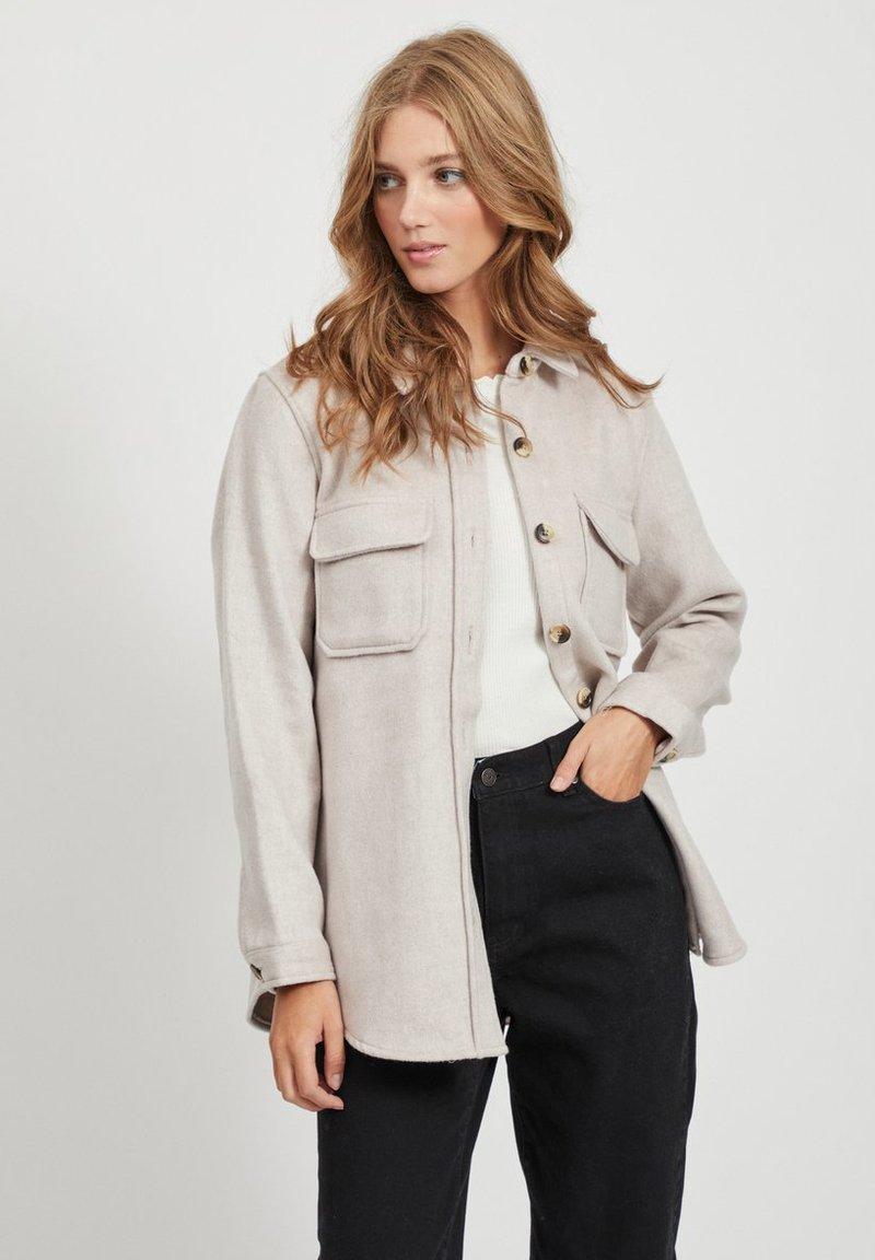 Object - OBJVERA - Lett jakke - mottled beige