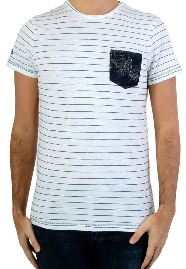 BURKE - T-shirt imprimé - white