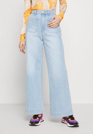 SAILOR JEAN - Široké džíny - tash blue
