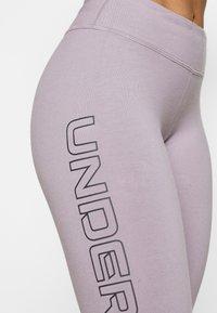 Under Armour - FAVORITE LEGGINGS - Collants - slate purple - 5