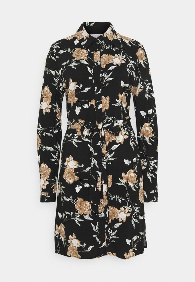 VINOUDI DRESS - Vapaa-ajan mekko - black