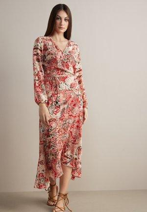 Day dress - paisley corallo