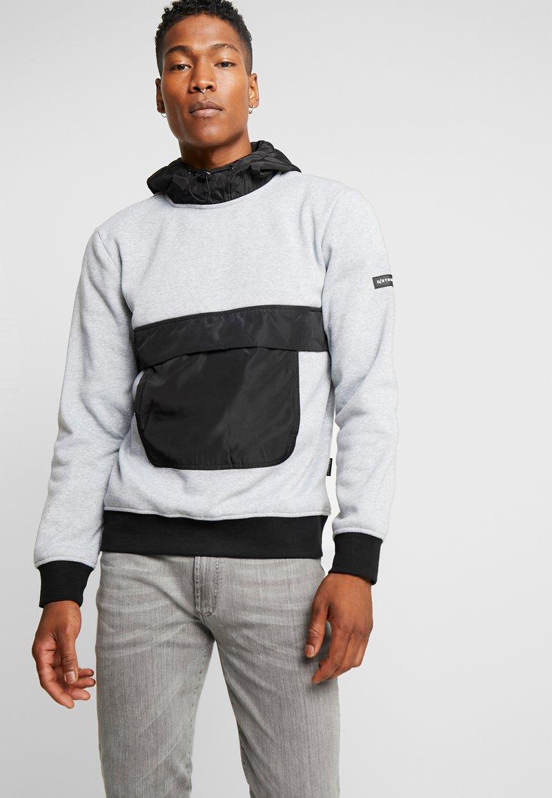 D-STRUCT - STADEN  - Bluza z kapturem - grey