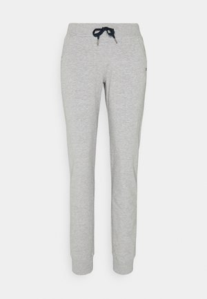 WOMAN LONG PANT - Tracksuit bottoms - grigio melange
