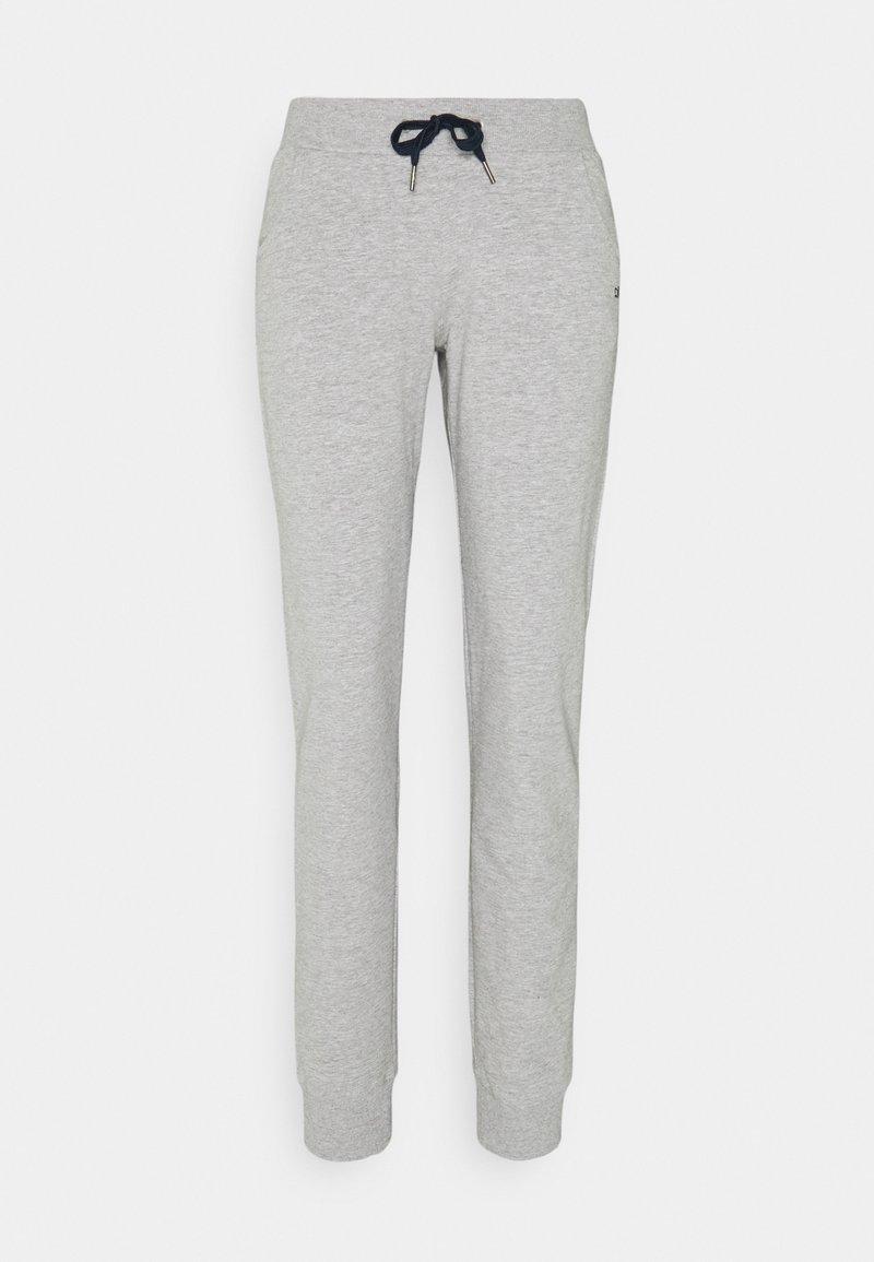 CMP - WOMAN LONG PANT - Teplákové kalhoty - grigio melange