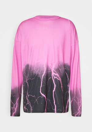 OMBRE LIGHNING  - Long sleeved top - pink